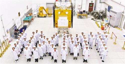 中国航天科技集团五院卫星研制团队:专注十年