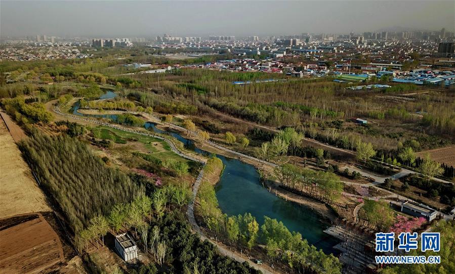 """(环境)(1)河北迁安打造""""海绵城市""""试点市建设工程即将竣工"""