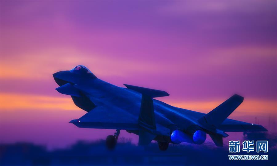 (图文互动)(2)空军首支歼-20部队开展多型新机编队协同战术训练