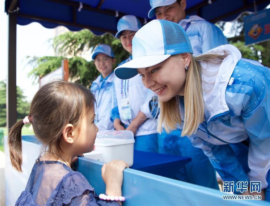 (上合青岛峰会)(1)留学生志愿者服务上合青岛峰会