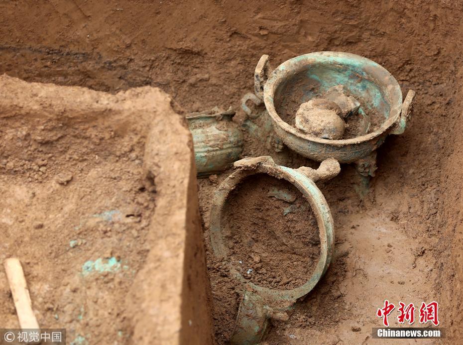 赛车pk10手机开奖记录:河南三门峡发现春秋时期古墓群_已出土文物近500件