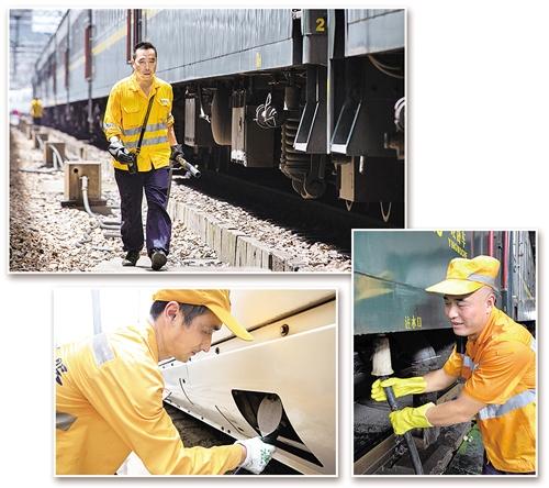 高温下的铁路上水工
