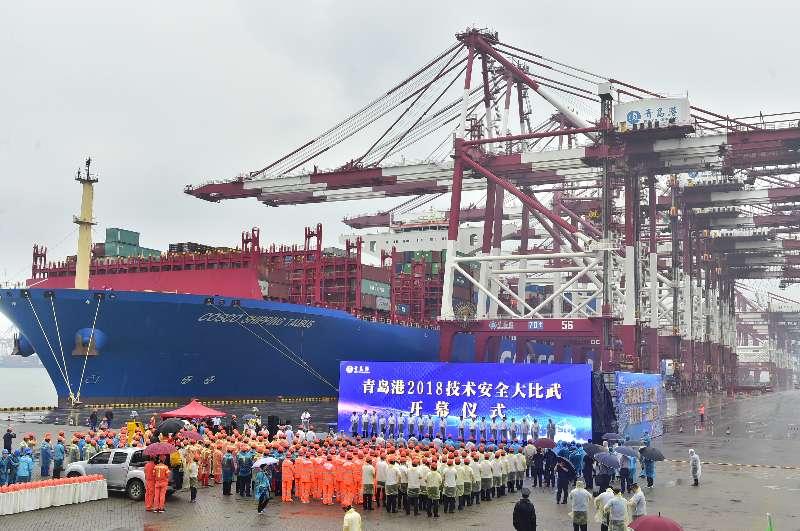 > 正文    近5年来,青岛港共有20777人参加公司级技术比武,5077人参加