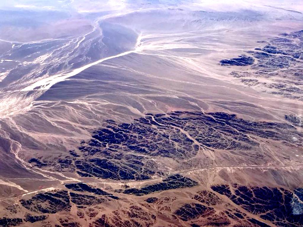 新疆228省道沿途風景