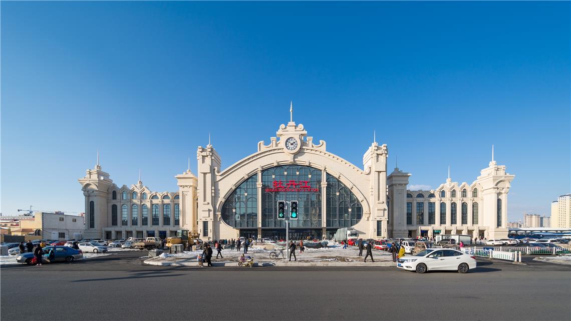 牡丹江_牡丹江站:高铁站房也可以这么美