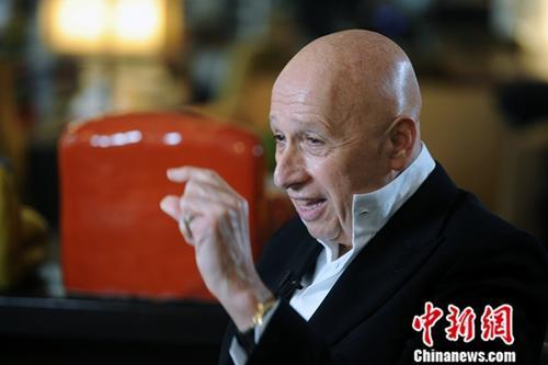 """""""兰桂坊之父""""盛智文谈改革开放:我了解和信任中国的体制"""