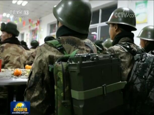 我站立的地方是中国!我官兵边防线上高声宣示主权引人泪目