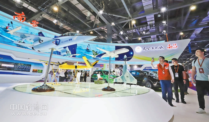 第十一届中部博览会共签约项目406个 总金额4835