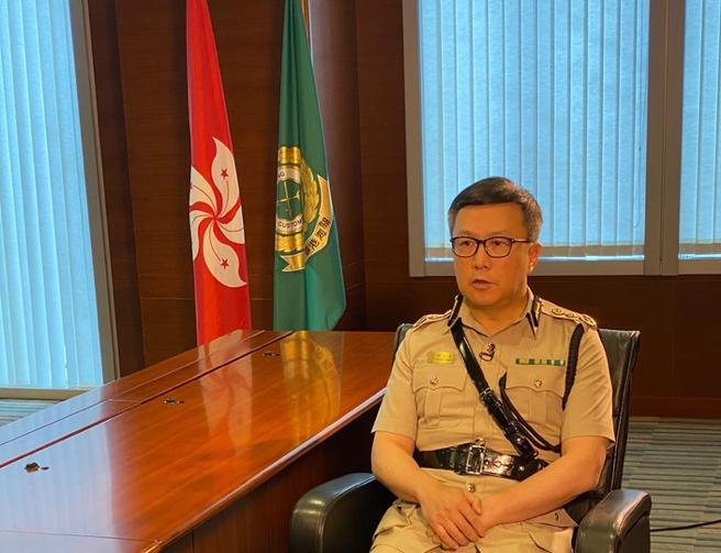 香港海关关长邓以海:守好国家南大门 严厉打击破坏国家及香港安全的不法行为