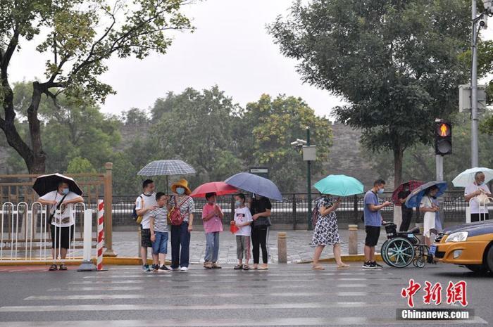 中央气象台:中国中东部大部地区将有明显降雨过程