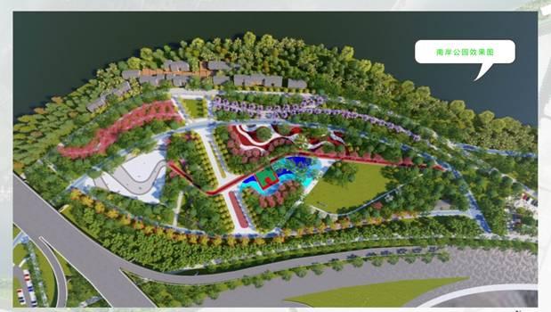 清远北江南岸公园明年开放,当地市民可饱览清远文化