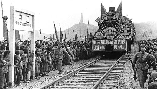 【奋斗百年路 启航新征程】成渝铁路:新中国第一条铁路