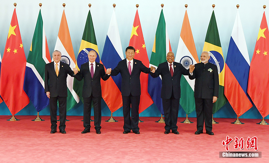 金砖国家领导人第九次会晤举行图片