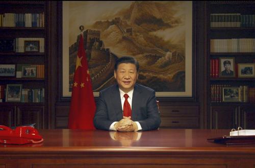 新年前夕,国家主席习近平发表二�一八年新年贺词。