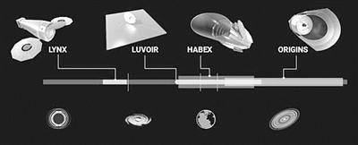 未来太空望远镜谁来接棒_NASA提出四大拟议方案