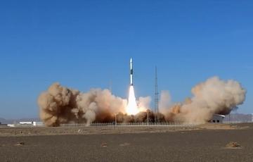 快舟一号甲固体运载火箭成功发射