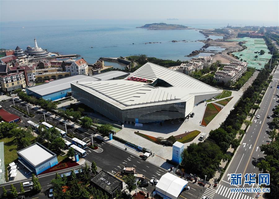 (上合青岛峰会)(1)探访上海合作组织青岛峰会新闻中心