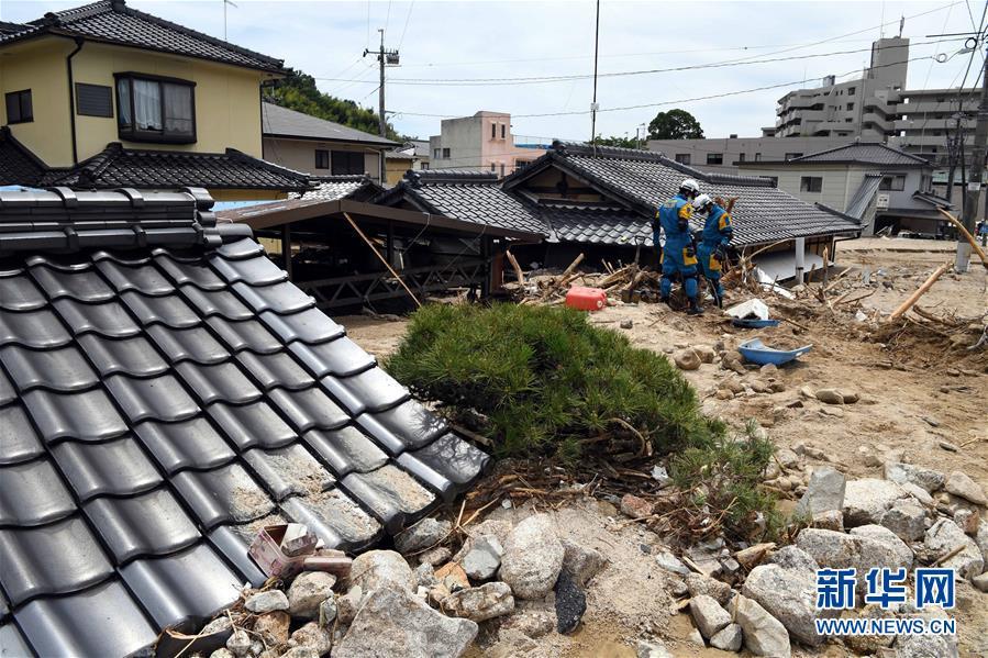 (国际)(1)探访日本暴雨灾区
