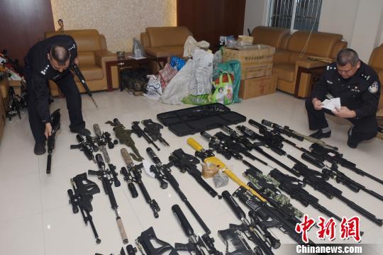 浙江警方破获特大非法运输枪支案抓获嫌犯183名