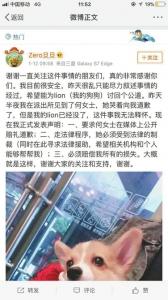 失去爱犬的小吴发出微博,要通过法律维权。