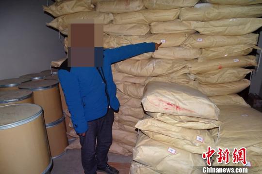 云南警方破获走私制毒物品案缴获制毒物品逾18吨