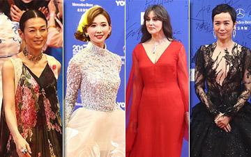 北京电影节闭幕红毯 中外女神红毯斗艳
