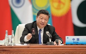 上海合作组织青岛峰会举行 习近平发表重要讲话