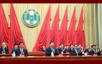 中国法学会会员代表大会开幕 习近平等到会祝贺