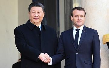 习近平同法国总统马克龙会谈(组图)