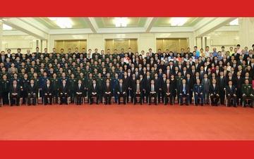 习近平会见国庆70周年庆祝活动筹办工作代表
