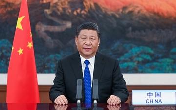 习近平在第73届世界卫生大会视频会议开幕式上致辞