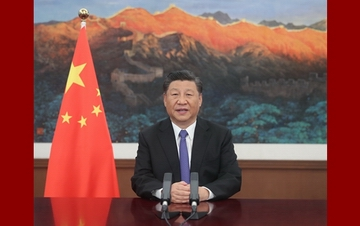 习近平在亚投行理事会年会视频会议开幕式致辞