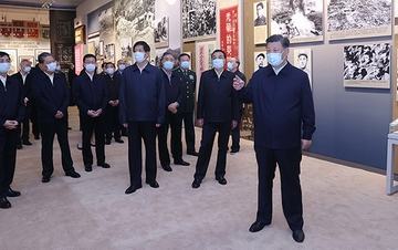习近平:在新时代继承和弘扬伟大抗美援朝精神
