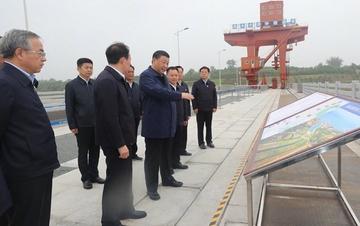 365bet体育在线-【官网授权】:在南阳市淅川县考察南水北调工程