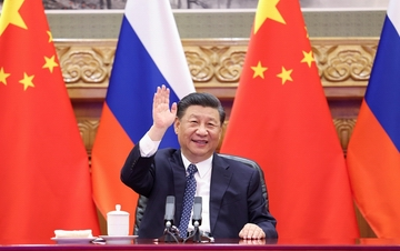 习近平同普京共同见证中俄核能合作项目开工仪式