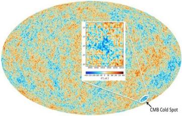 """平行宇宙真的存在? 神秘""""冷斑""""或成首个证据"""