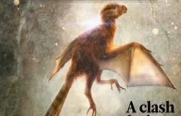 中国科学家发现具有膜质翅膀的恐龙