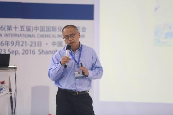 上海(摩贝)生物技术有限公司副总裁文军谈互联网+开启化工新生态链.JPG