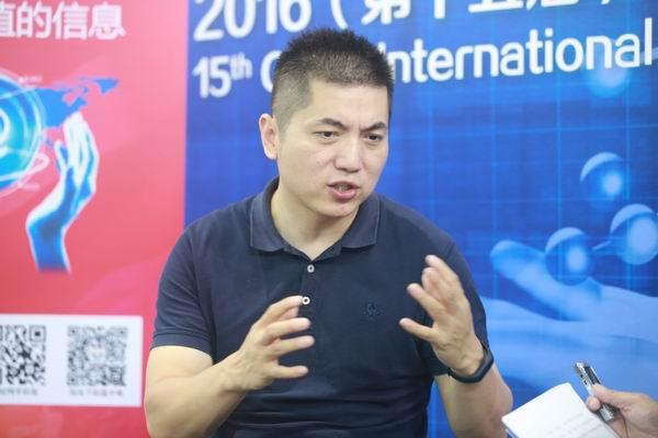 有料信息科技(上海)有限公司联合创始人于翔接受中国经济网记者采访.JPG