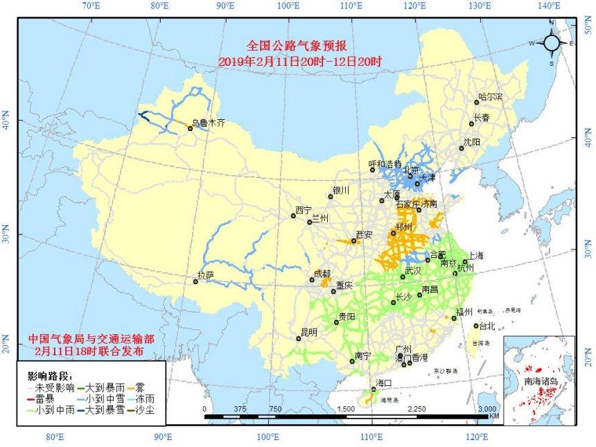 青海扎碾公路地图