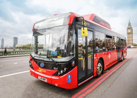 势如破竹 比亚迪再获伦敦30台纯电动大巴订单