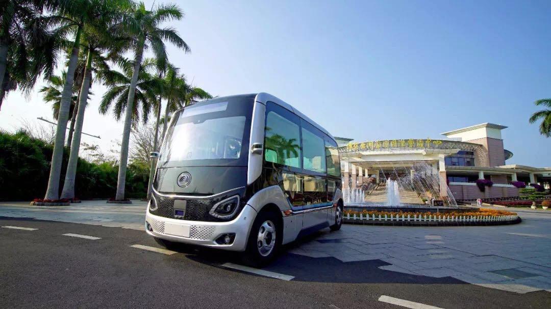 宇通自动驾驶巴士亮相博鳌亚洲论坛