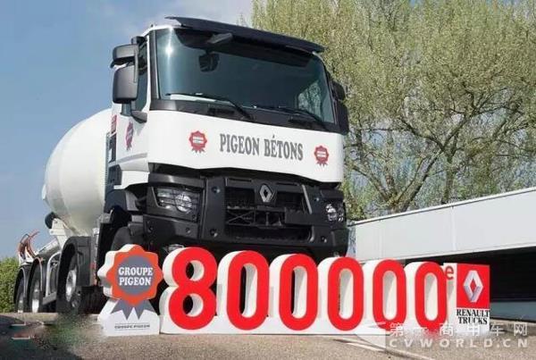 雷诺布雷斯卡车工厂第80万辆车交付使用