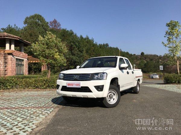 品鉴高端务实派 中国商用汽车网试驾骐铃T100