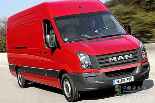 IAA商用车展上全球首发MAN TGE轻型商用车
