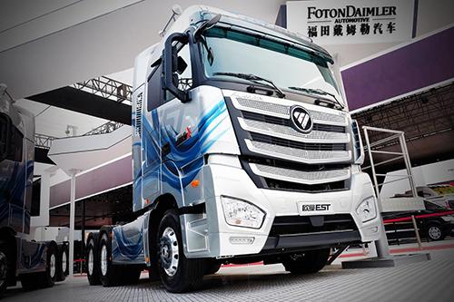 欧曼EST互联网超级卡车将赴汉诺威车展与奔驰同台竞技