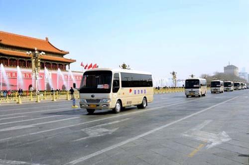 """新能源客车服务全国两会或成""""新常态""""(图)"""