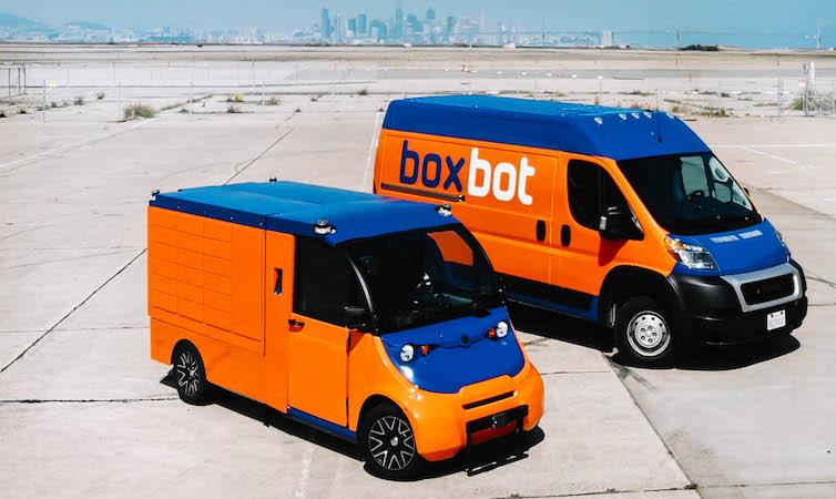 "Boxbot推""最后一英里""配送系统 大幅降低快递成本"