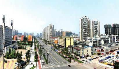 东兴区汉安大道