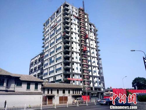 资料图:正在建设的楼房。<a target='_blank' href='http://www.chinanews.com/' _fcksavedurl='http://www.chinanews.com/' >中新网</a>记者 李金磊 摄